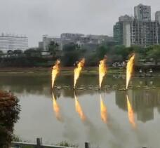 喷火设备工程视频